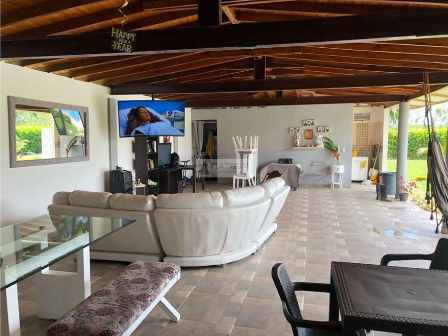 finca en venta en condominio en rozo palmira