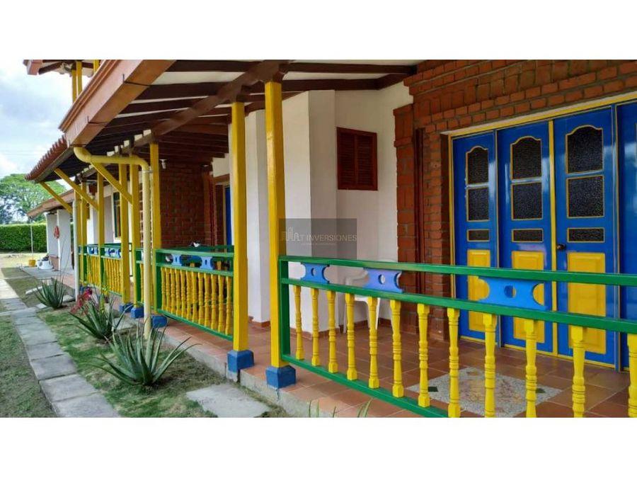 hermosa finca hotel quindio pueblo tapao