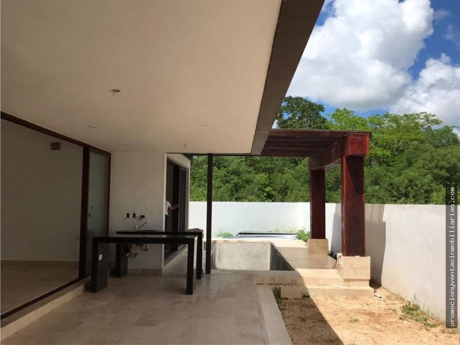 hermosa residencia en el exclusivo desarrollo cabo nte merida yucatan