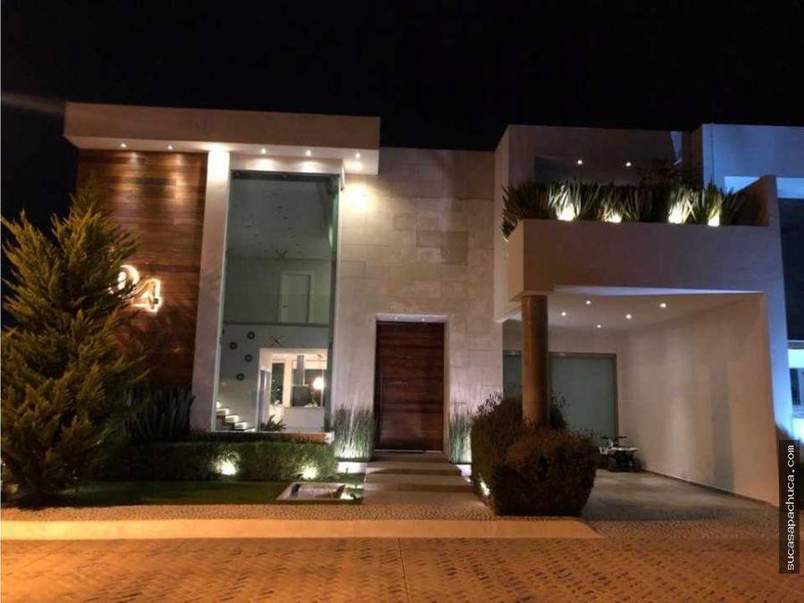 hermosa residencia en quinta real