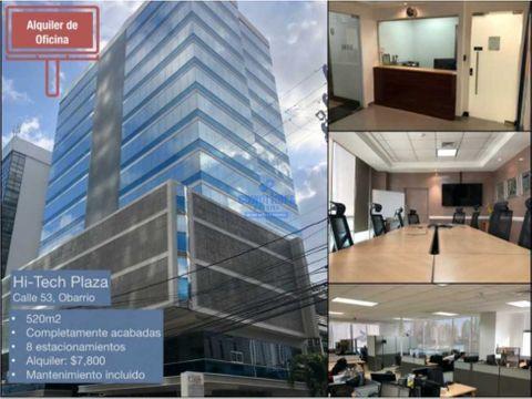 hi tech plaza oficina 520mts
