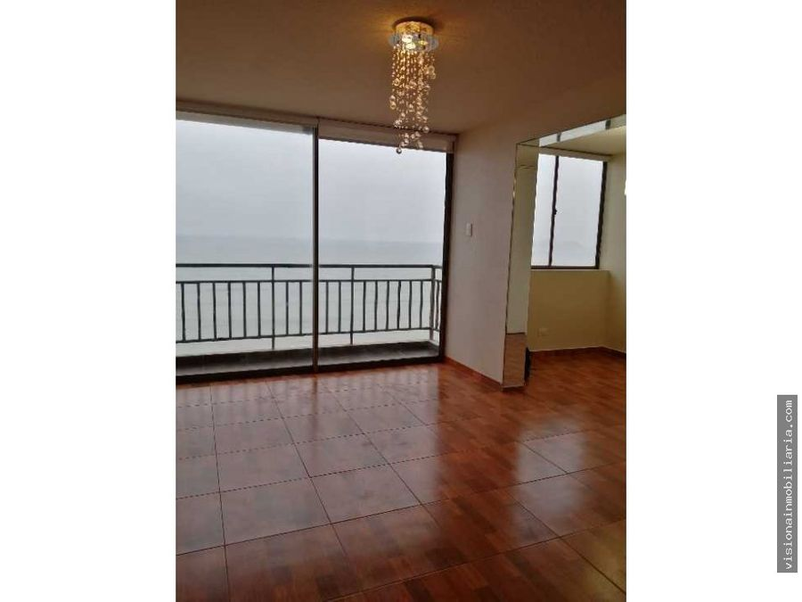 increible departamento con vista al mar