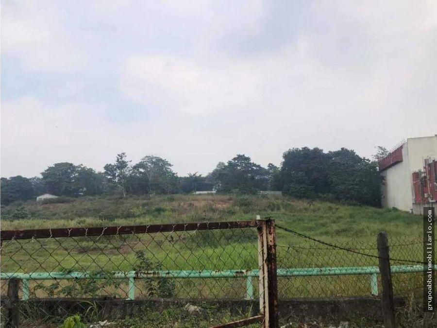 inversionistas lote en venta en periferico en villahermosa tabasco
