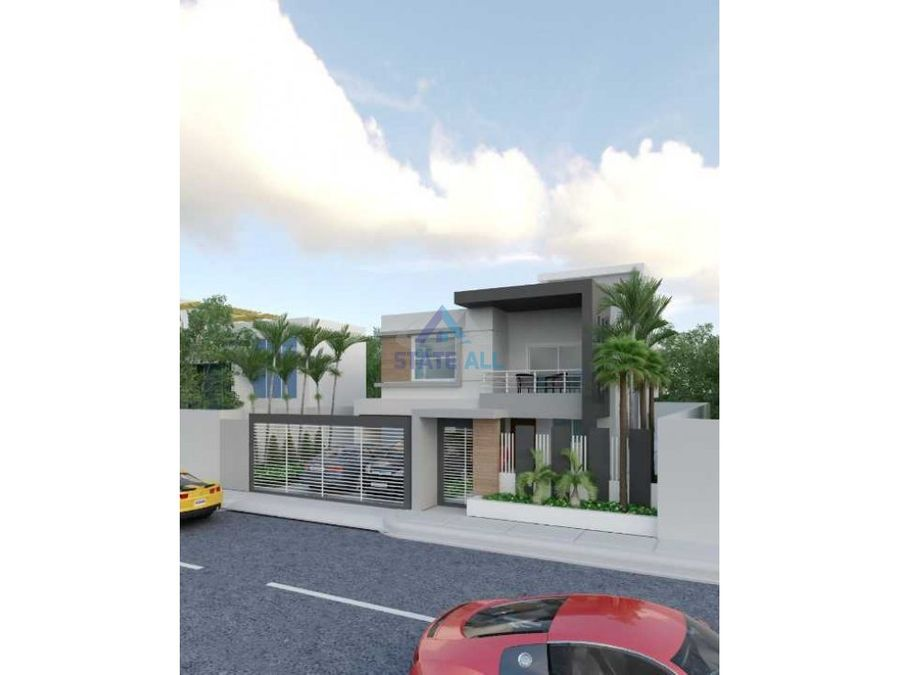 lujosa casa de 2 niveles en san isidro