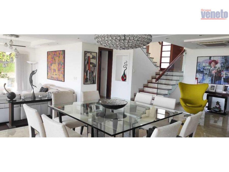 lujosa casa en monte real equipada en venta