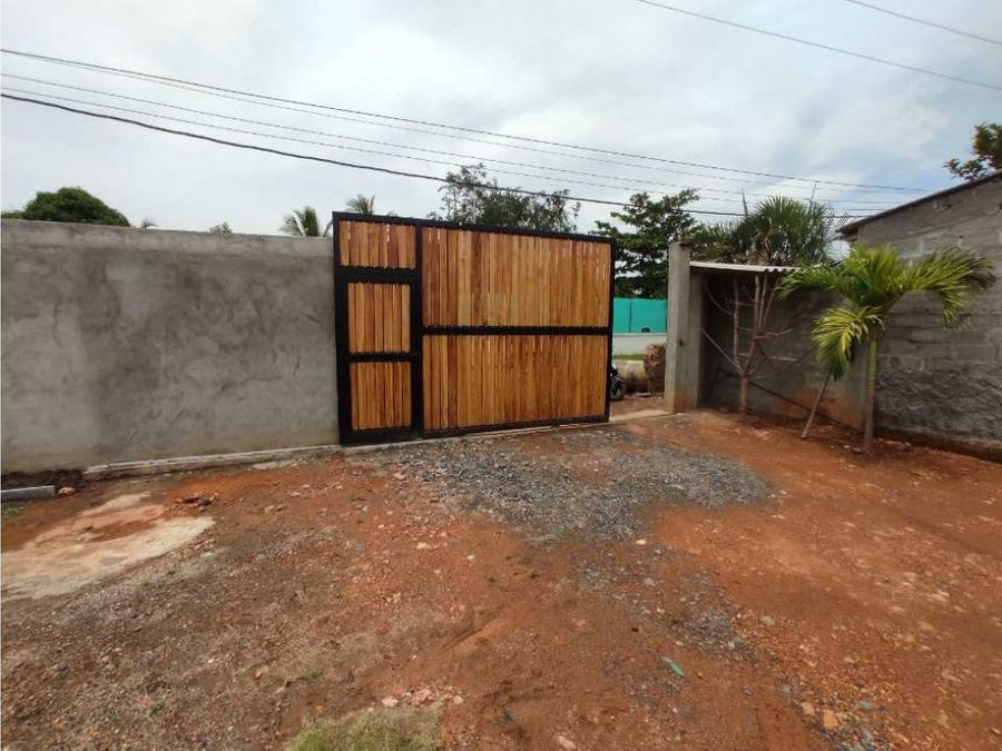 linda casa campestre con garaje doble cerca a la upb monteria cordoba