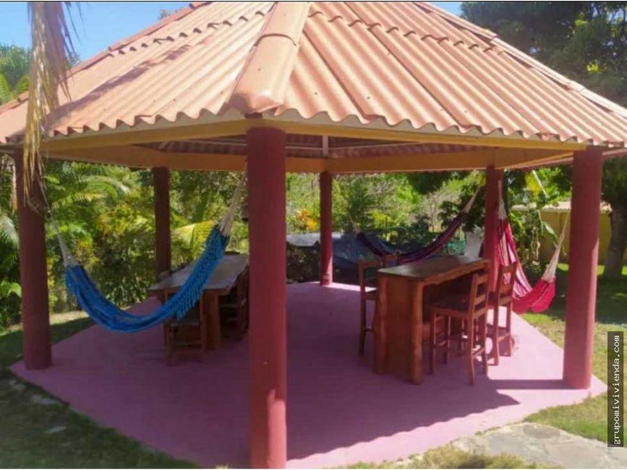 linda casa de playa en el distrito san carlos
