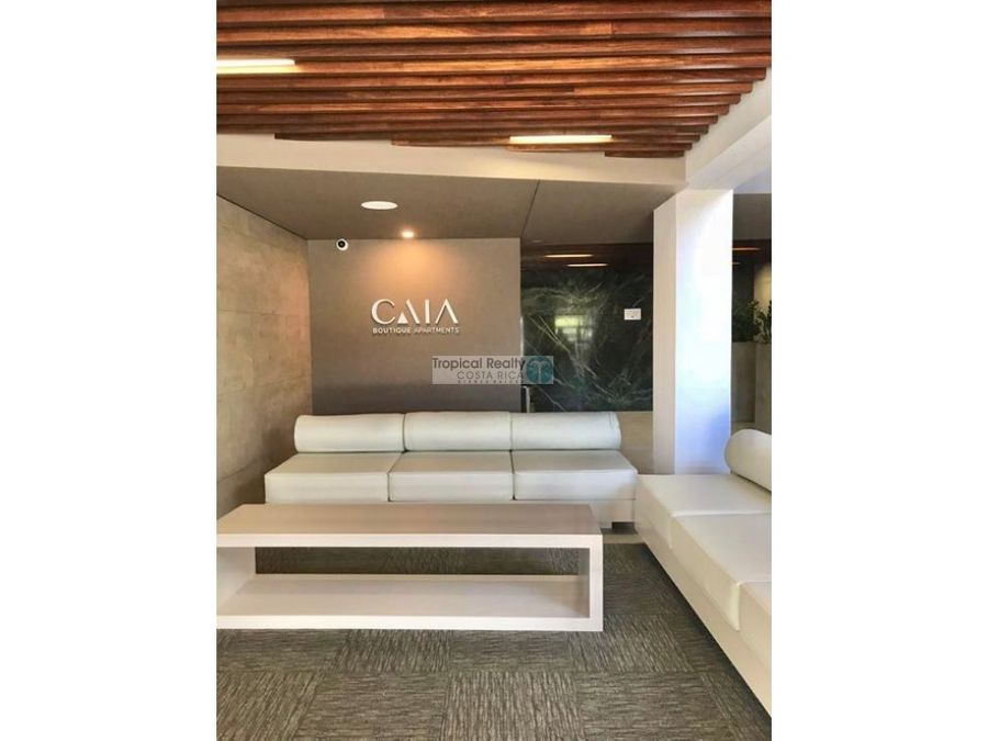 lindo apartamento con linea blanca para alquiler en caia boutique