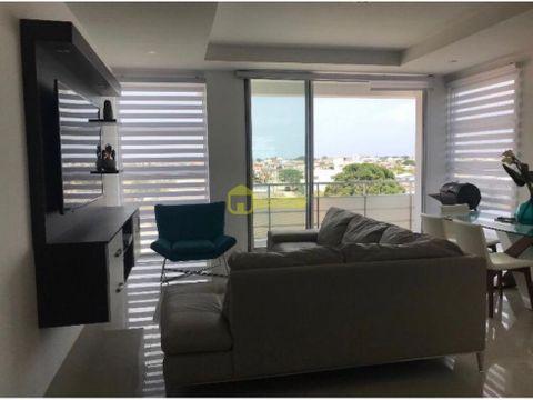 lindo departamento en salinas en edif frente al mar