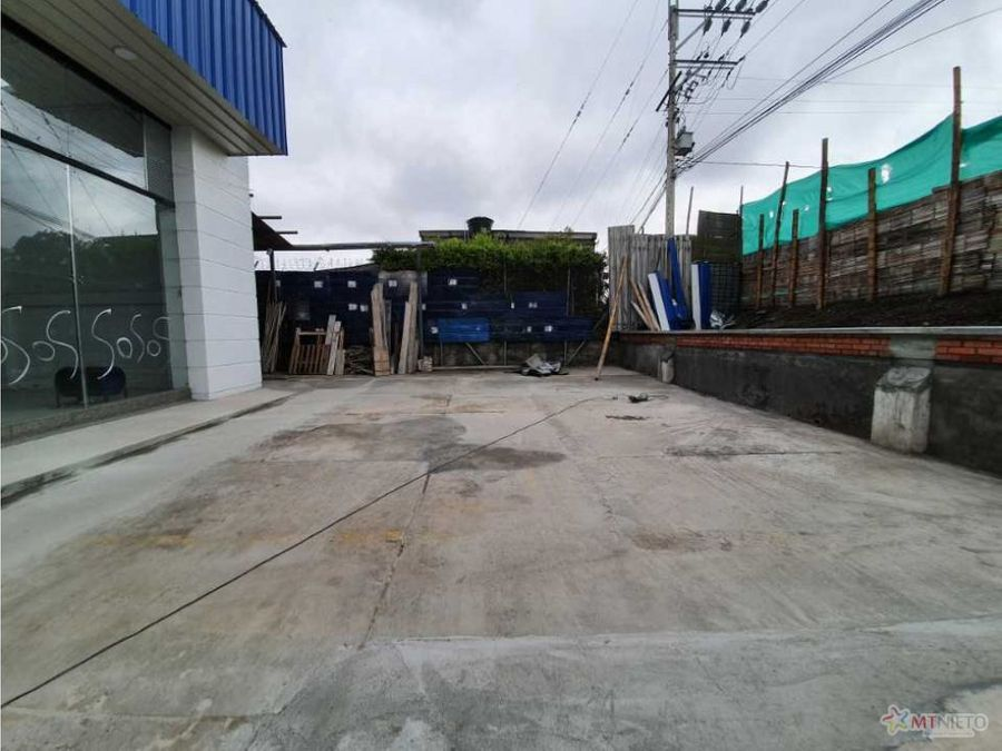 local comercial 500 m2 doble calzada armenia aeropuerto