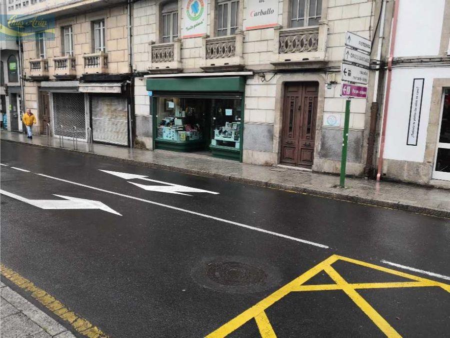 local comercial en la plaza de galicia