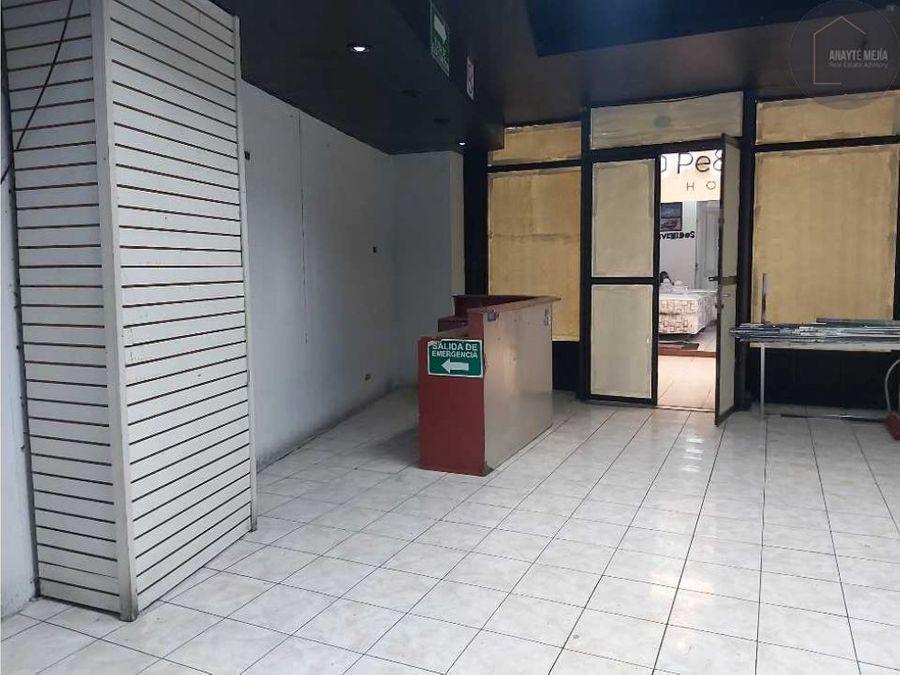 local en renta y venta en centro comercial proceres zona 10