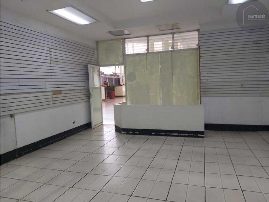 local en renta en centro comercial proceres zona 10