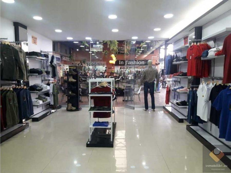 venta local itagui sector centro de la moda
