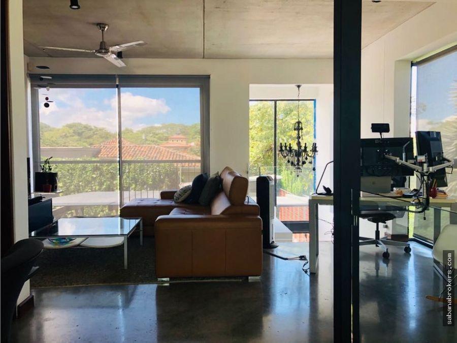 loft contemporaneo con hermosas vistas