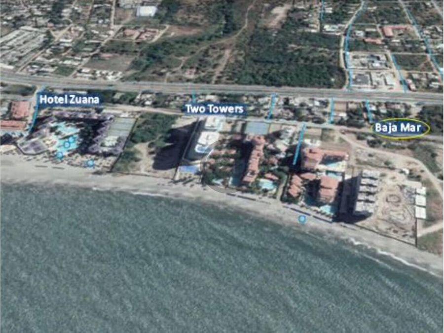lote 4188 mt2 frente al mar para proyecto inm