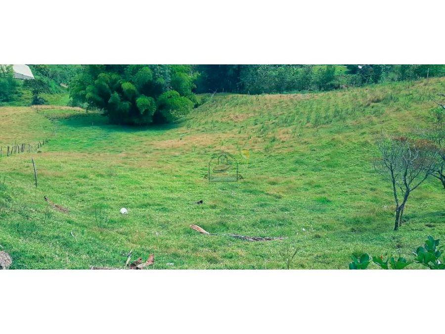 finca agricola o para proyecto de loteo en brisas del rio marinilla