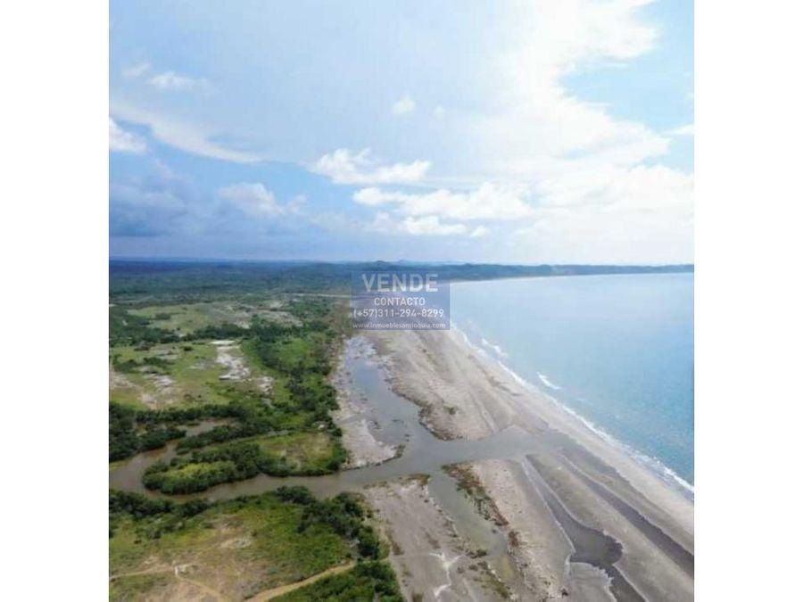 lote de playa zona norte cartagena