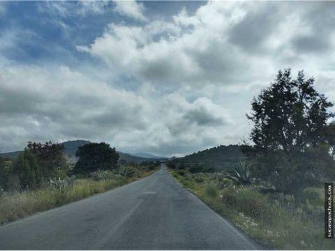 lote en carretera a real del monte