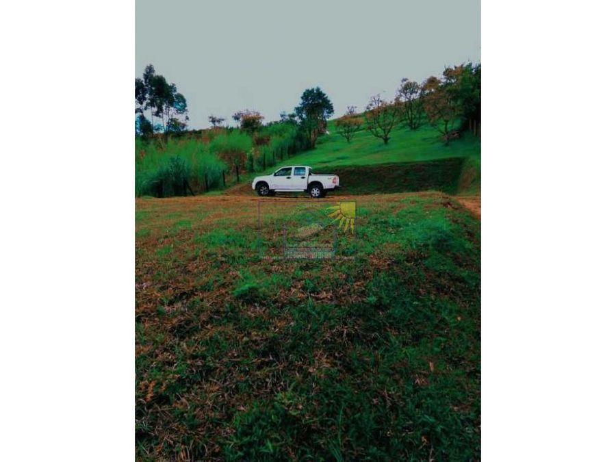 lote en guarne vereda en hojas anchas con licencia de construccion
