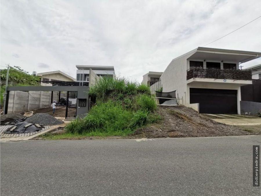 lote en escazu para construir 2 propiedades
