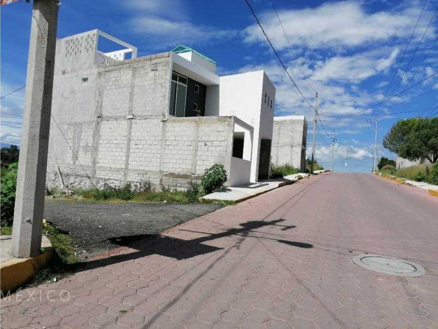 lote en la trinidad tepehitec 10 min de tlaxcala centro