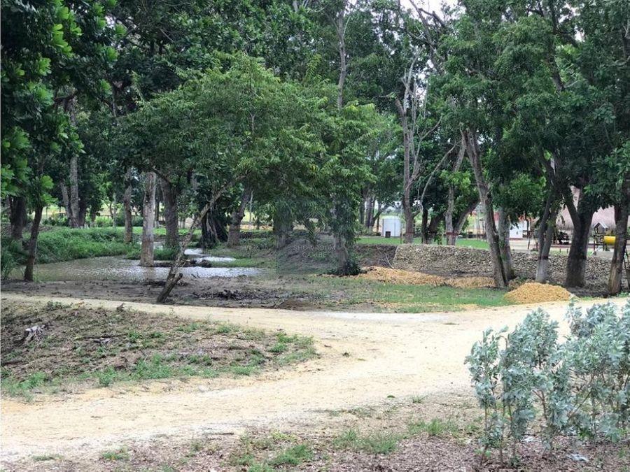 lote en venta condominio campo verde turbaco