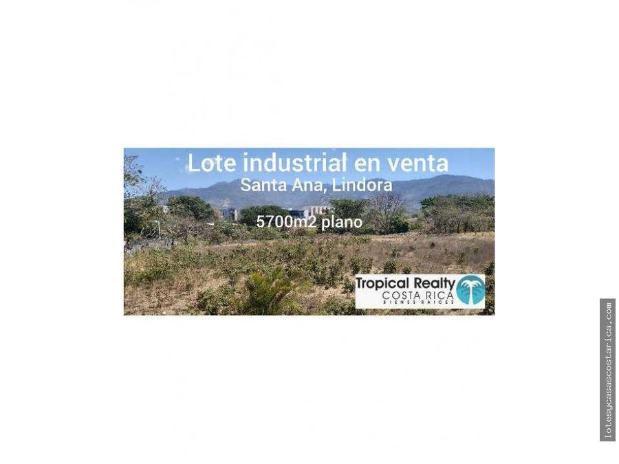 lote industrial santa ana lindora