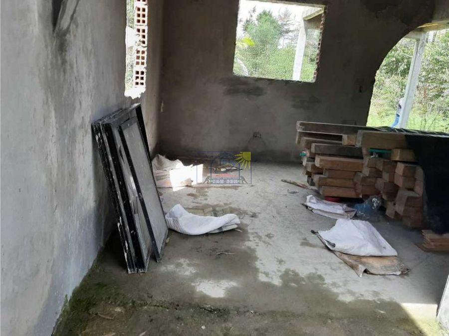 lote inicio de obra para 2 pisos con plancha para terminar asu gusto