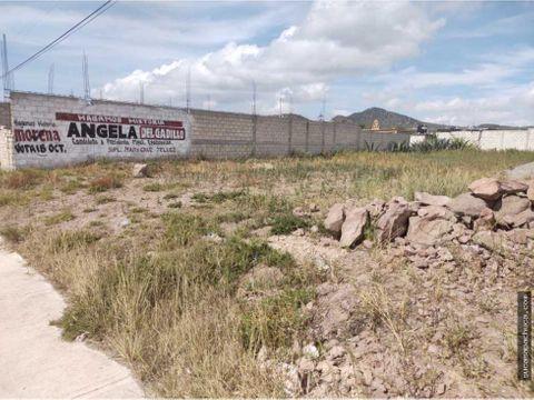 lote de terreno sobre carretera en epazoyucan