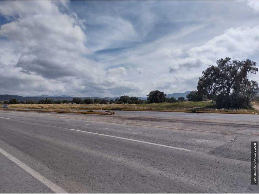 lote sobre carretera en epazoyucan
