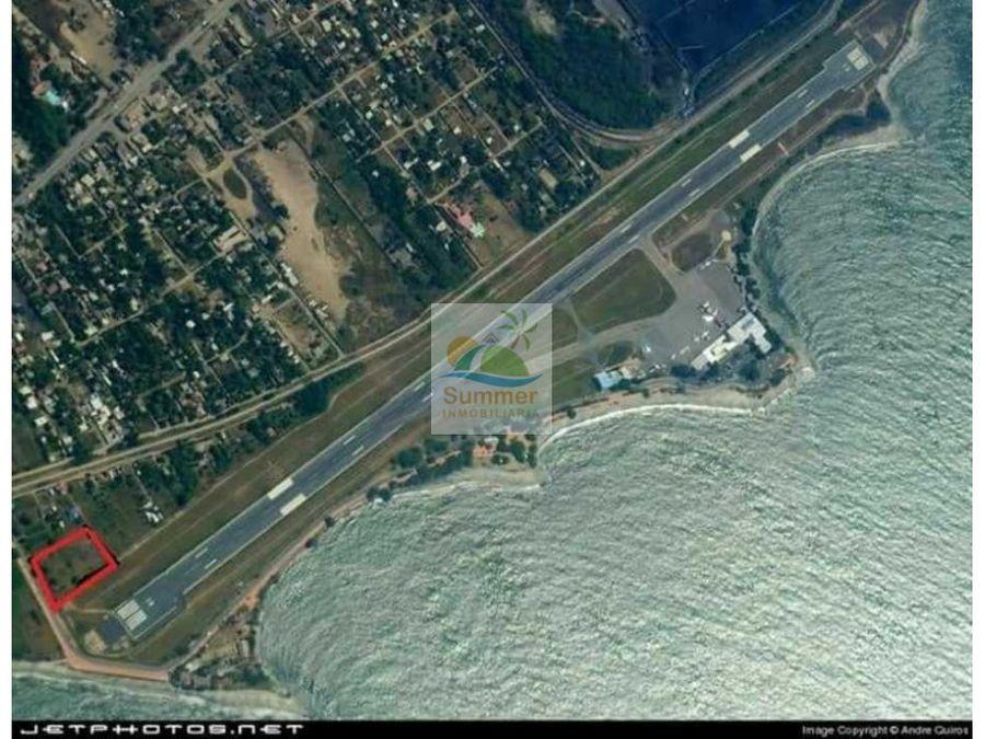 lote en aeropuerto santa marta para hangar