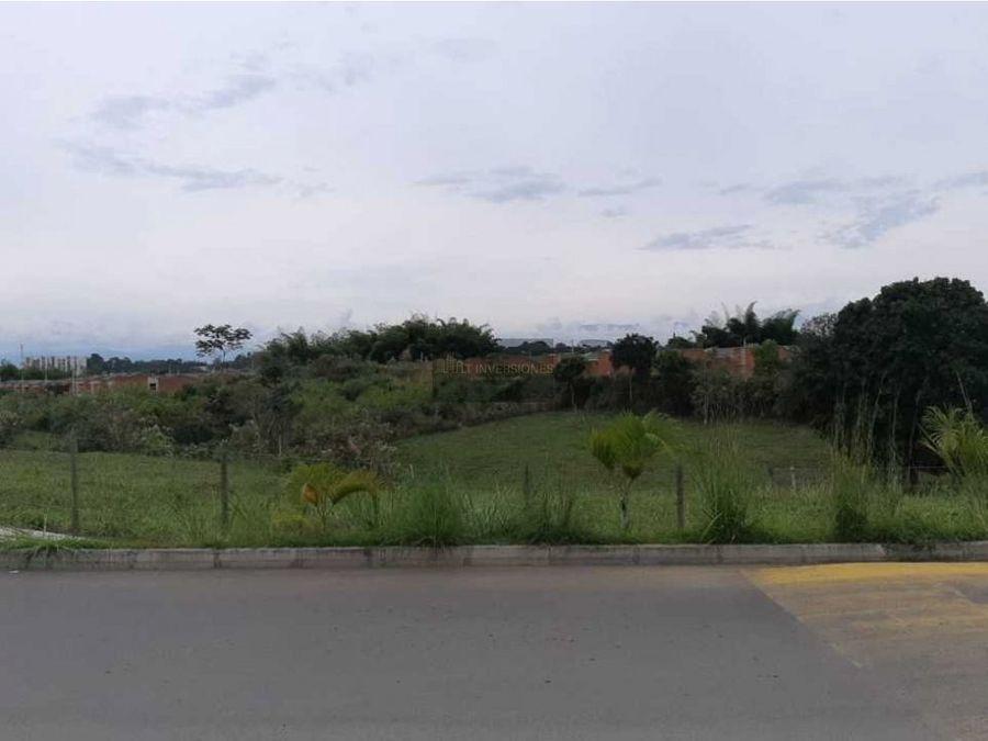 lote suburbano para construccion de proyecto galicia risaralda