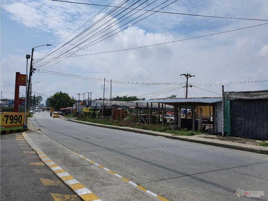 lote urbano 16000 m2 ideal para parque industrial via el caimo