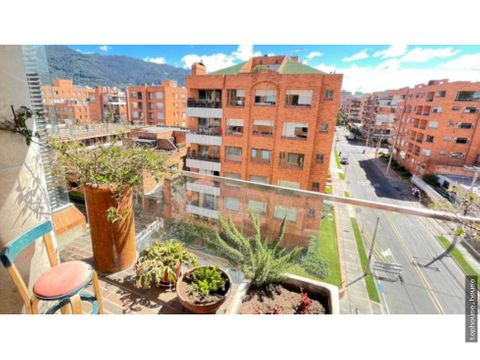 p483 espectacular apto 3n chico navarra exterior 5to piso 238 m2