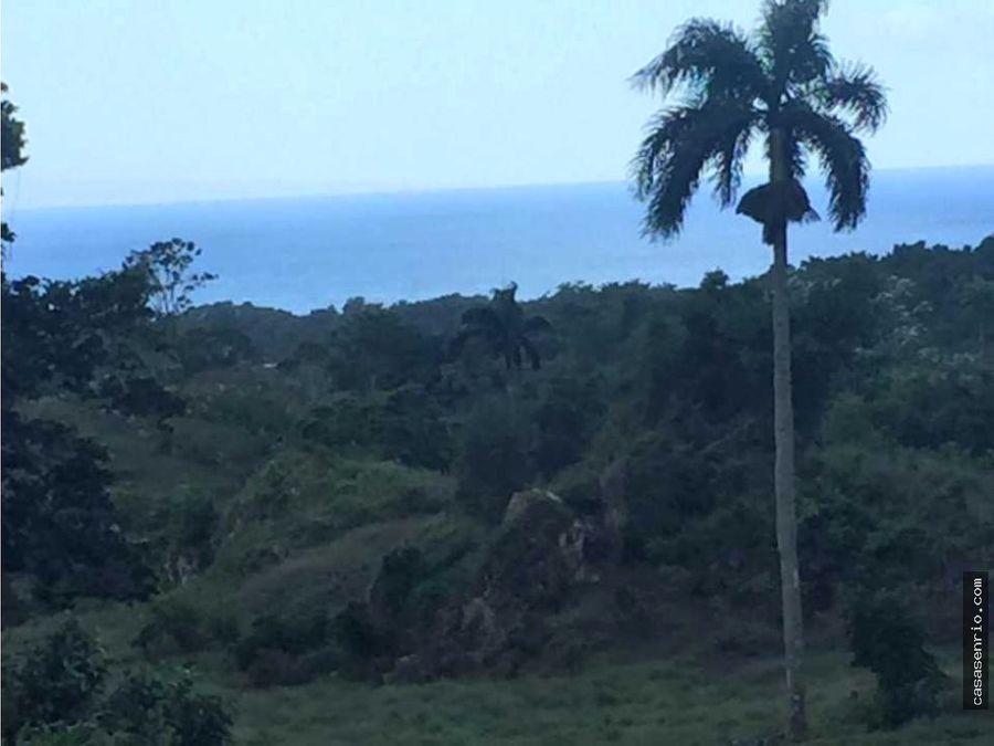 para inversionistas 1520756 m2 de terreno con vista al mar en rsj