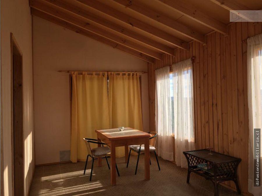 illapel parcela el balcon cabana 30m2 agua de riego camellones cerco