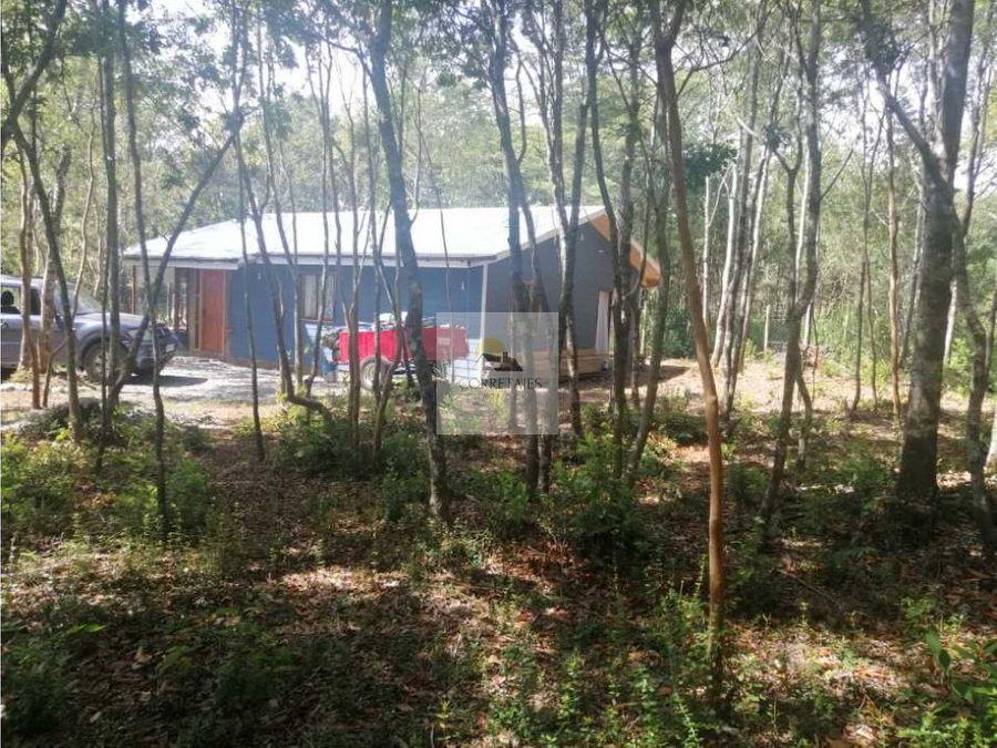 parcela con dos casas sector metrenehue