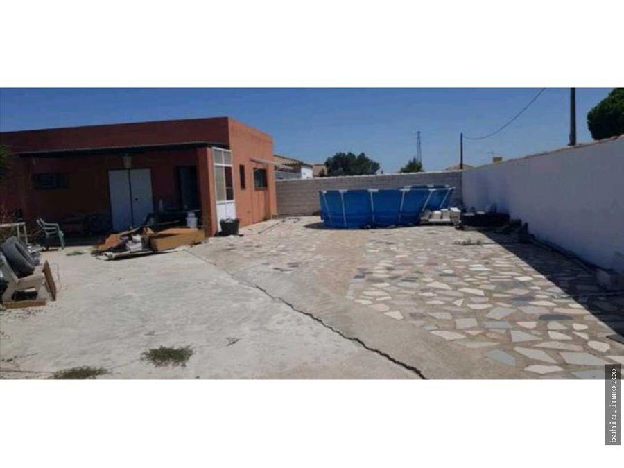 parcela casa en barrosa