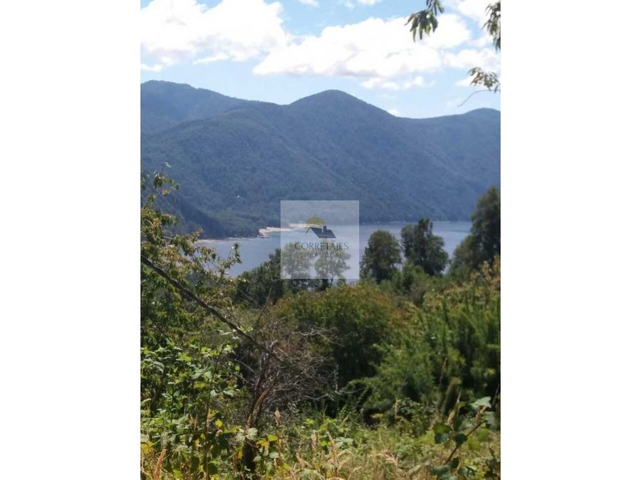 ultima hectarea hermosa vista a lago caburgua