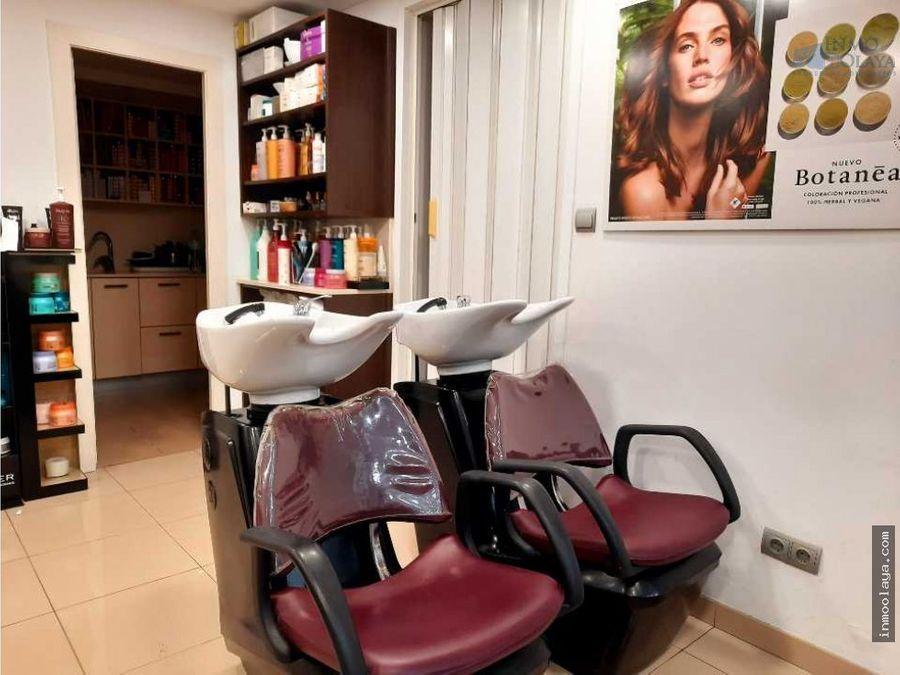 traspaso peluqueria en sagrada familia