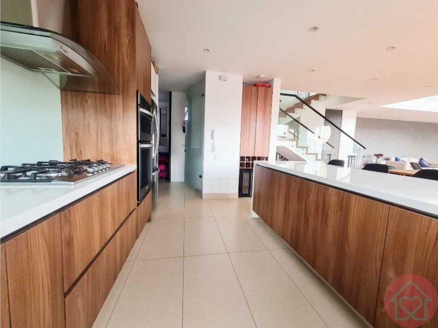 penthouse triplex venta chico terraza bogota