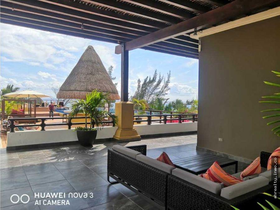 penthouse con roof privado en playa del carmen