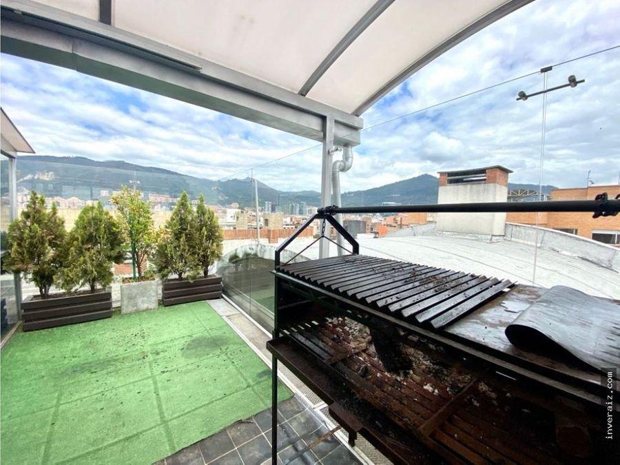 penthouse con terraza en santa barbara ar