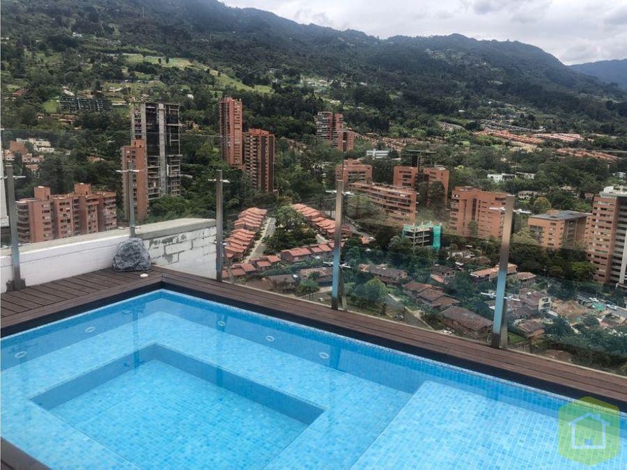 penthouse en venta sector san lucas el poblado
