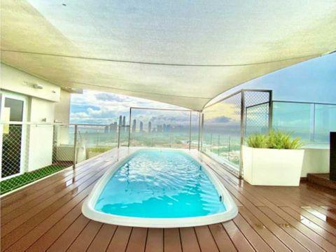 penthouse en santa maria inteligente con piscina 5r ascensor 700mts