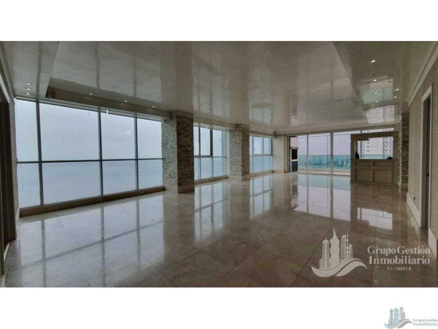 penthouse 550m2 4 rec en costa del este frente al mar primera linea