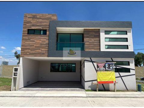 preciosa casa a estrenar residencial nobel frente a la udlap