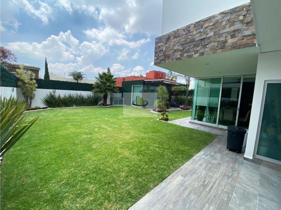 preciosa residencia en venta quintas de morillotla