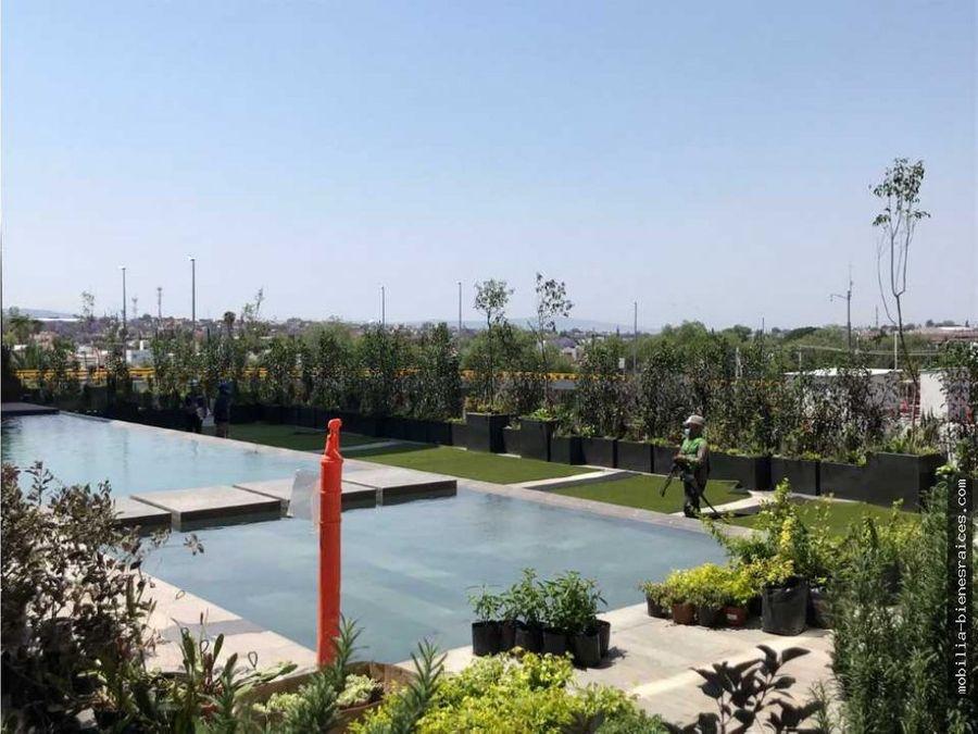precioso depto semiamueblado en renta la gota residencial 23000